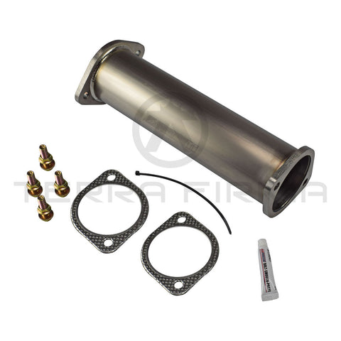 Tomei Titanium Cat Straight Pipe Kit Expreme Ti Type A For Nissan Skyline RB20/25/26 SR20