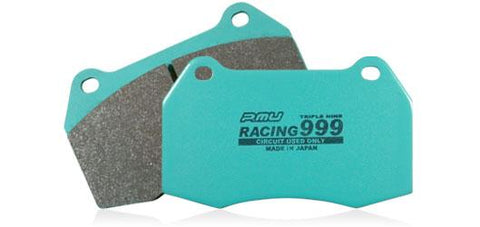Project Mu RACING999 Rear Brake Pads For Nissan Skyline R32 GTR V-Spec R33 R34 GTR P9R206