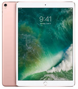 Apple iPad Pro 2nd Generation 256GB Wi-Fi, 10.5Inch - Rose Gold