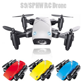 Mini Drone  with 0.3mp Wifi FPV Camera 2.4G 6-axis Gyro Selfie Drone