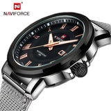 NAVIFORCE Top Luxury Brand Women Watch Back Light Hands Business Fashion Casual Ladies Quartz Watches Waterproof Montre Femme