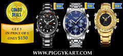 Special Combo offer of 3 watches @ $199 Only (Guanqin USA)