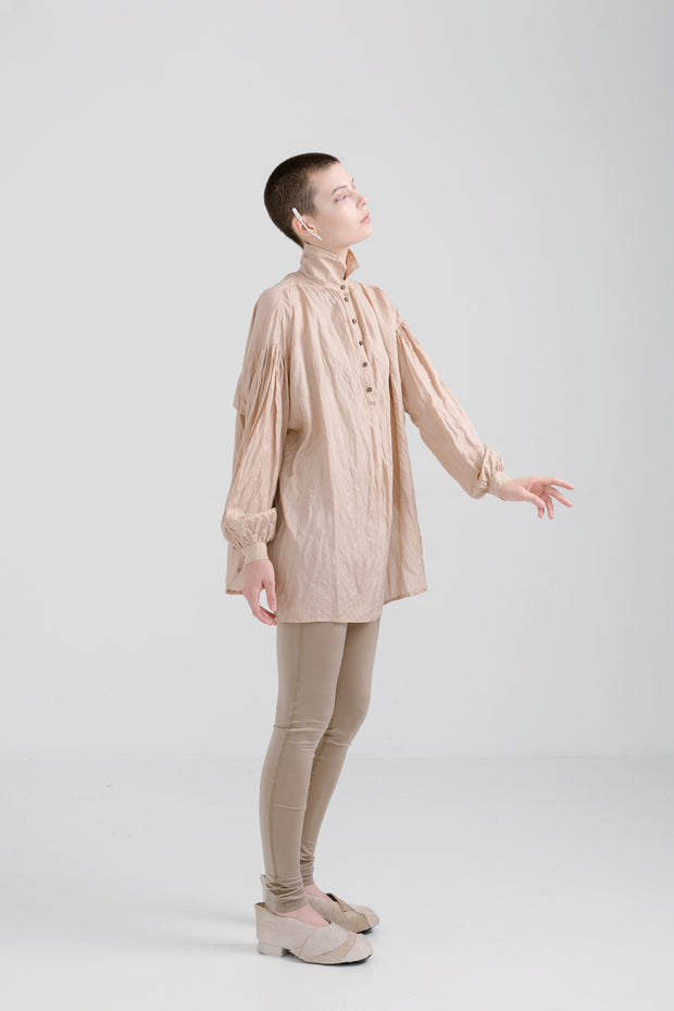 Lela Jacobs Roseate Dirty Pink Silk Still Shirt Shop online Auckland Stockists Parnell