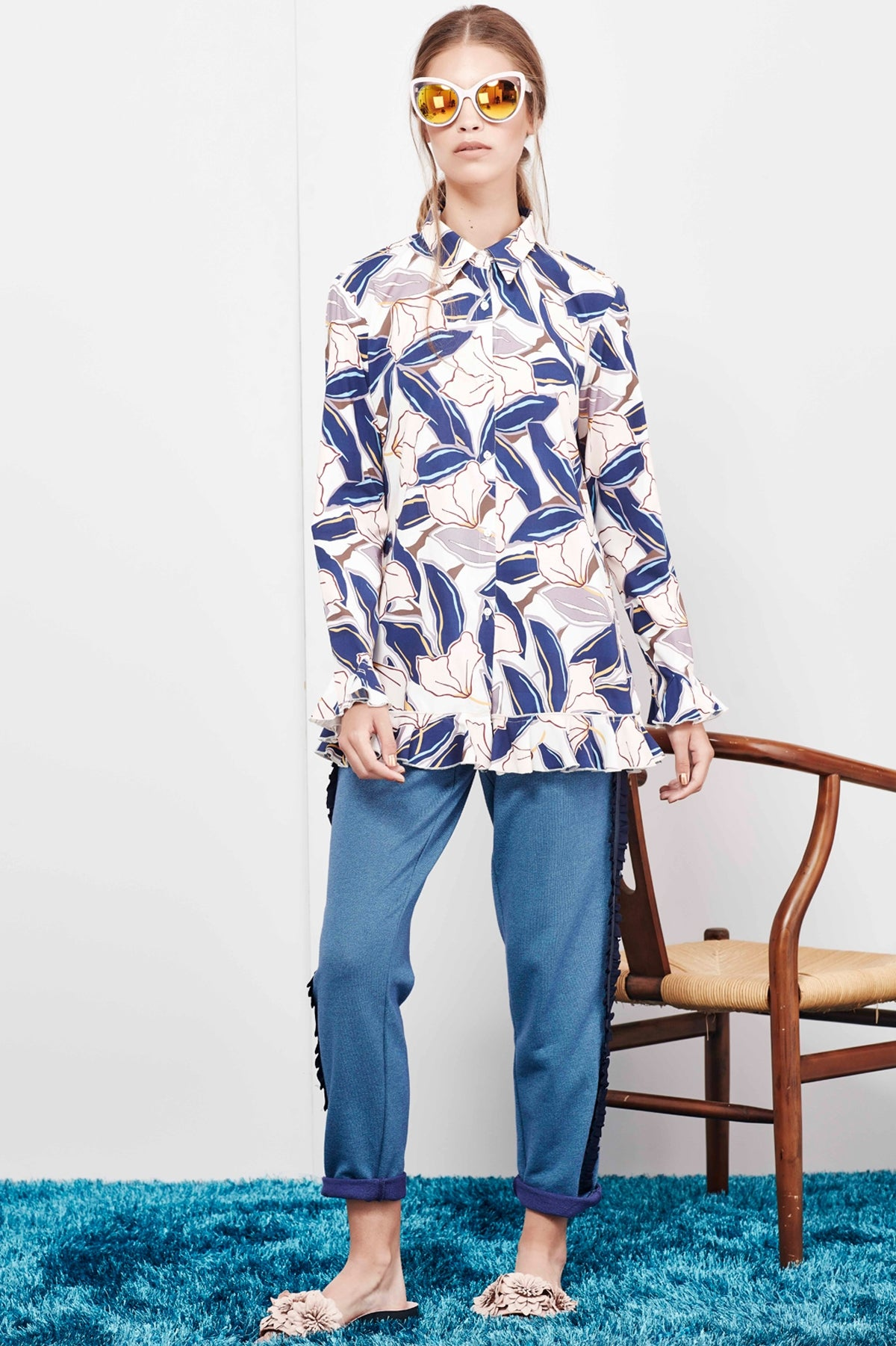 Keep Your Shirt On Coop Trelise Cooper Stockists Auckland Parnell Floral Button Up Shirt