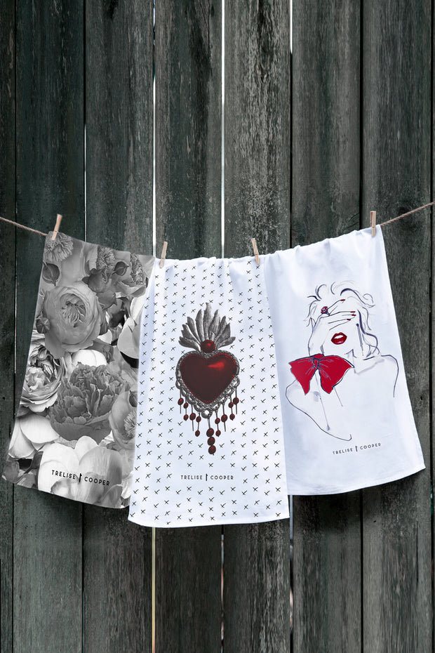TRELISE COOPER TEA TOWELS