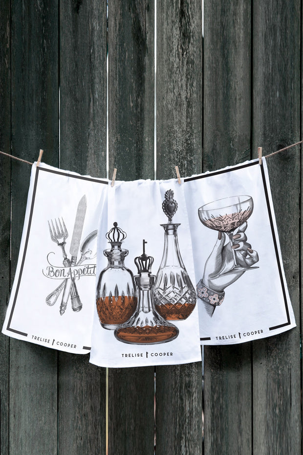 BON APPETIT TEA TOWEL SET