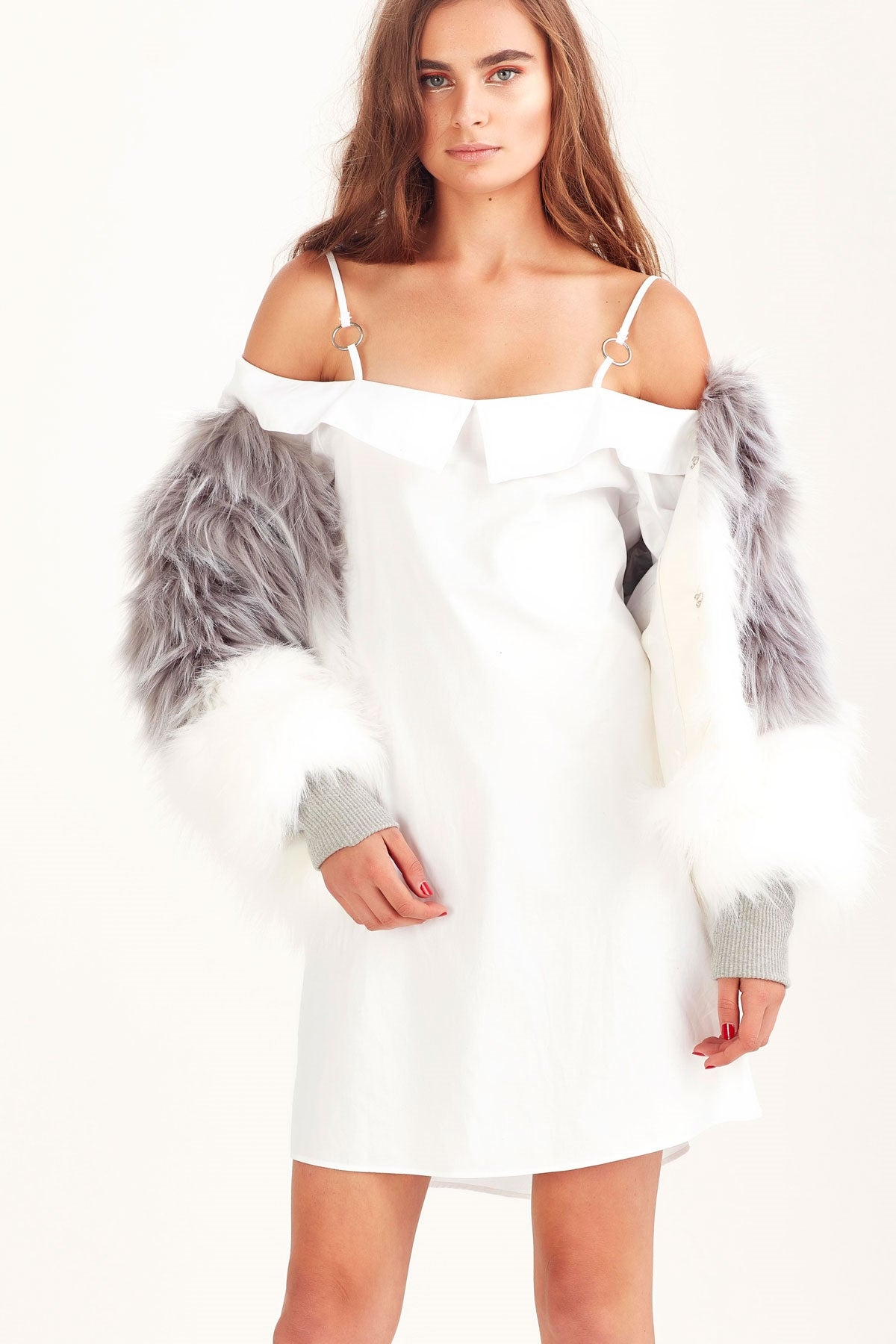Coop by trelise cooper Fur-Real Faux Fur Cropped Coat Shop New Zealand Designer Clothing Stockists