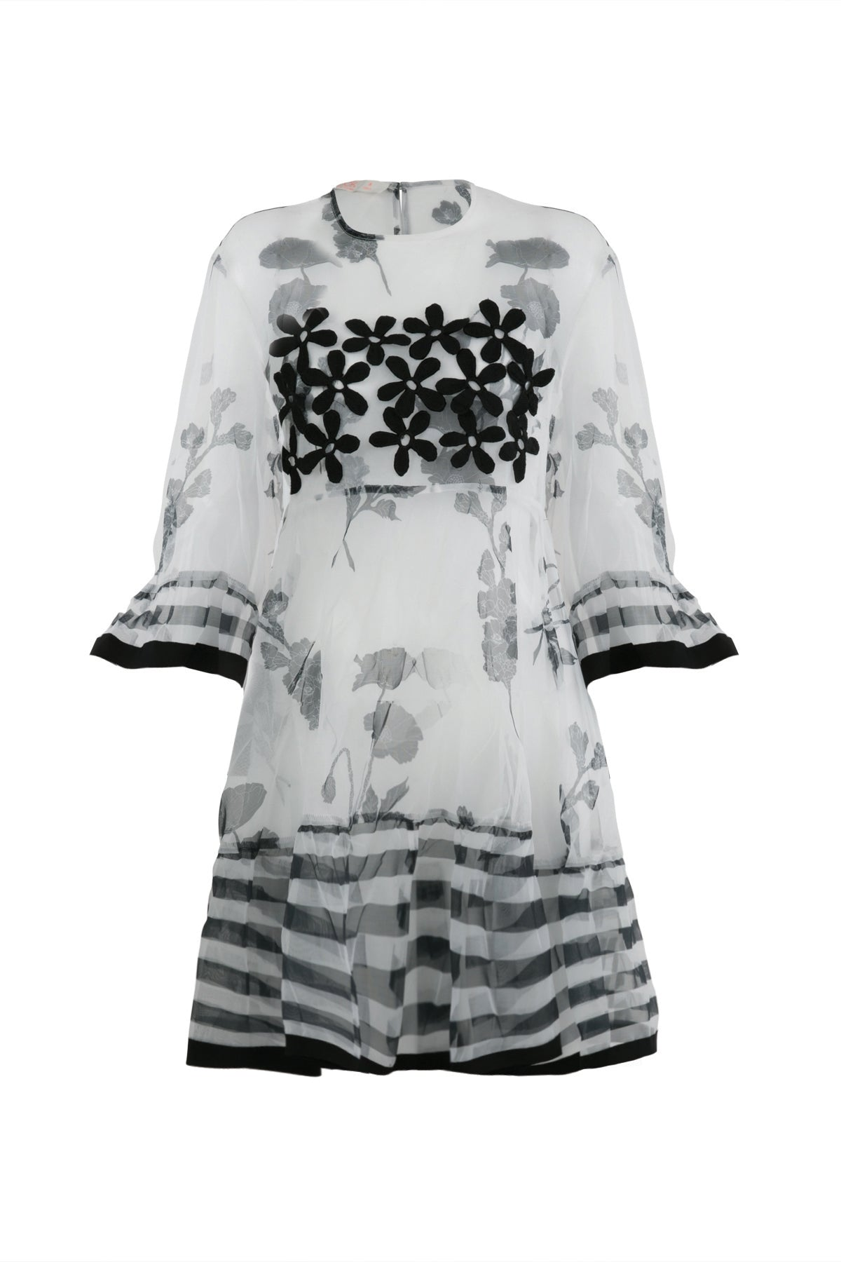 Coop In Good Shape Sheer Textured Dress Shop New Zealand Designer Clothing Stockists