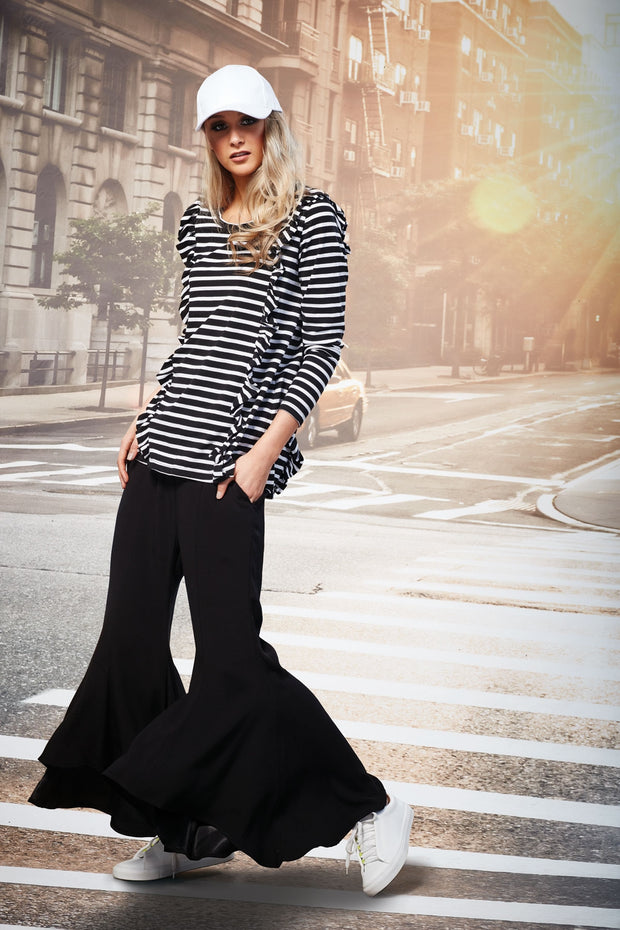 Coop by trelise cooper king flear black flared dress pants Shop New Zealand Designer Clothing Stockists