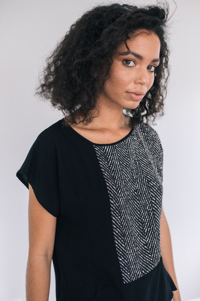 Staple + Cloth Step Top NZ Designer Clothing New Zealand Made