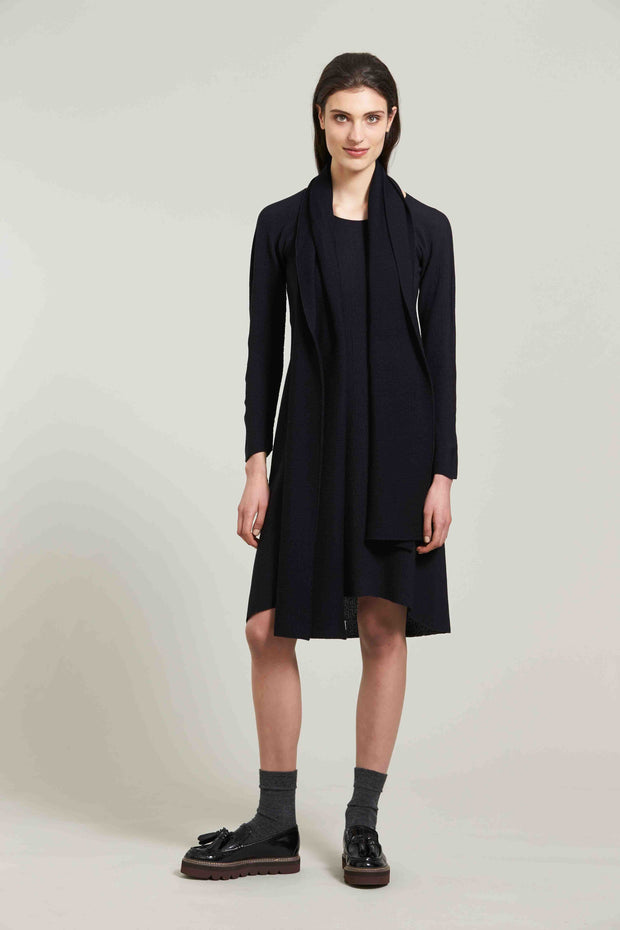 Standard Issue Moss dress merino Knitwear Stockists Auckland Made in New Zealand NZ Designer Clothing