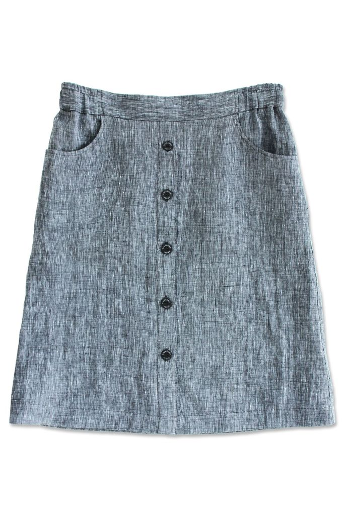 Standard Issue Linen Skirt Stockists Auckland Made in New Zealand NZ Designer Clothing