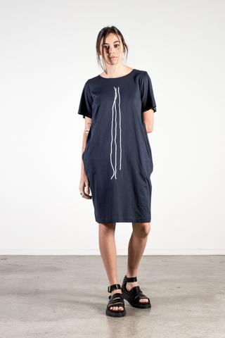 nyne dalian dress maud print nz fashion made in new zealand ethical fashion shop online or at our Parnell store