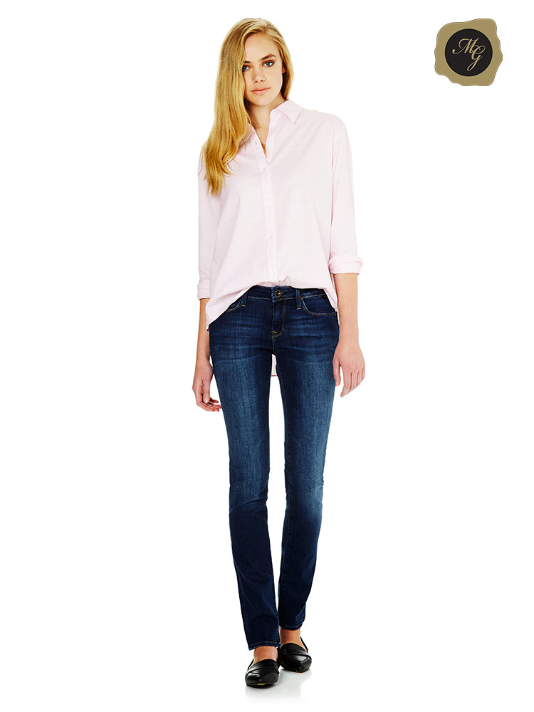 mavi kerry deep gold tencel straight leg jeans shop online by Mavi auckland NZ