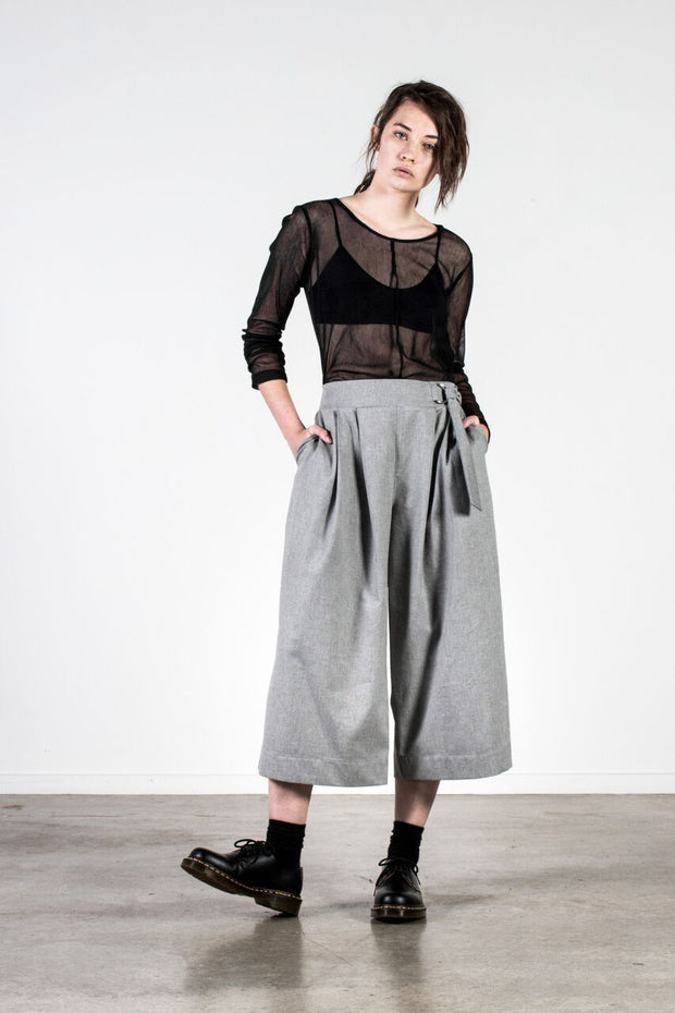Nyne Base Top Cotton Mesh NZ Designer Clothing Shop Made in New Zealand Stockist shops auckland parnell