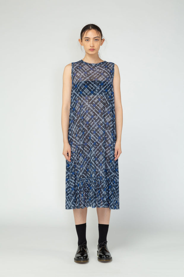 Imprint dress Nom*d NZ designer clothing NZ made Ethical fashion Hands up range