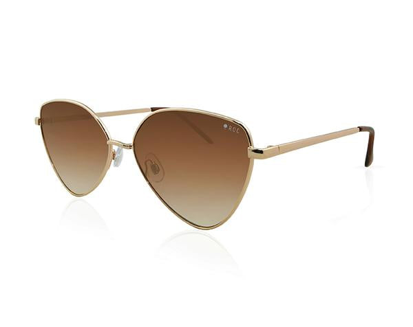 Roc Sunglasses Shameless Gold Sunglasses buy online NZ Stockists Parnell buy Funky cheap sunglasses