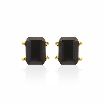 PRIMA DONNA EARRINGS (BLACK/GOLD)