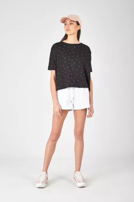 Huffer Spot Boaty Tee stockists nz designer clothing laybuy buy new zealand designer shop online