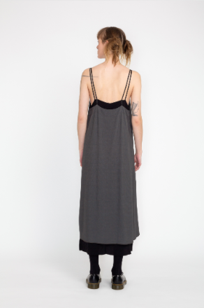 noms teared slip reversible dress Dunedin NZ fashion new zealand made. Shop online now or at our Parnell store.