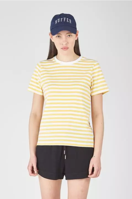 Huffer mello stripe tee stockists nz designer clothing laybuy buy new zealand design laptop case shop online