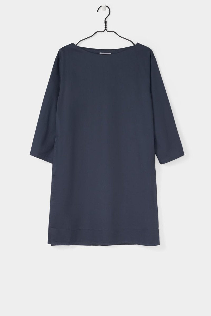 Kowtow stockists Stance dress teal Organic Fairtrade Ethical