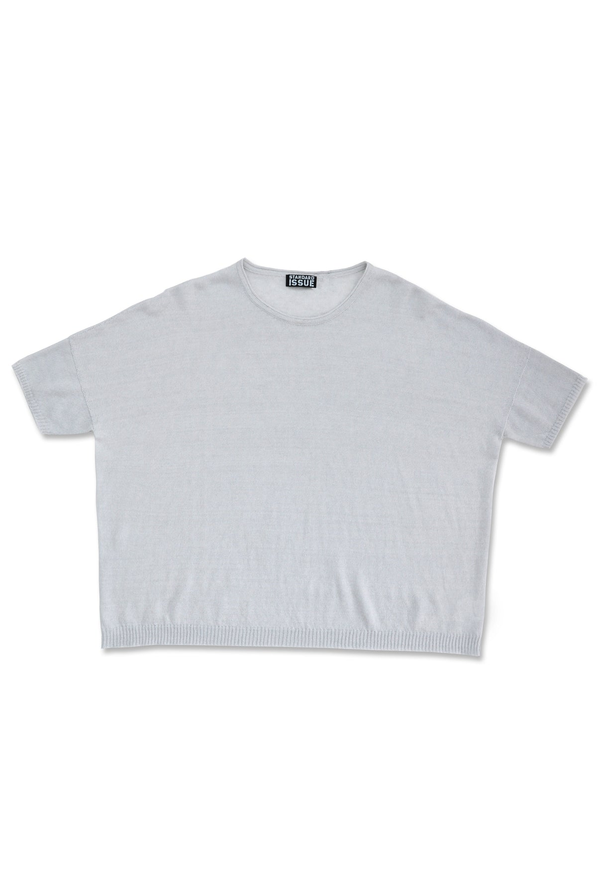 Standard Issue Linen wide tee Knitwear Stockists Auckland Made in New Zealand NZ Designer Clothing