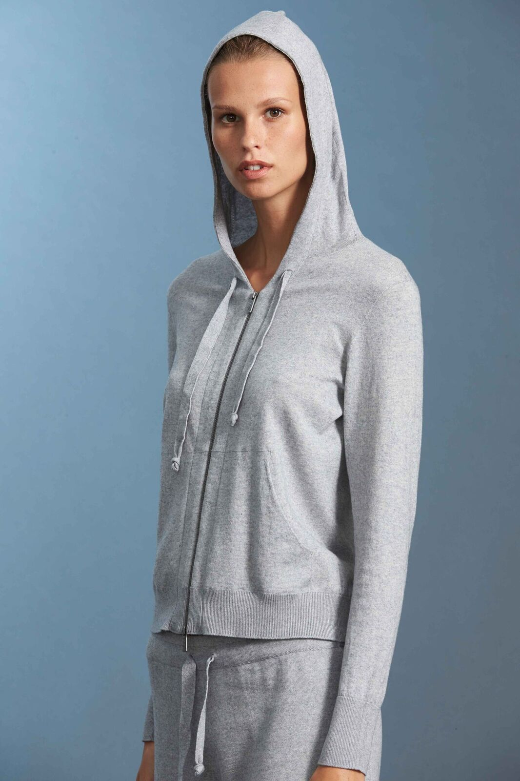 Standard Issue Luxe Hoodie Stockists Cotton Cashmere Zip Up Made in New Zealand
