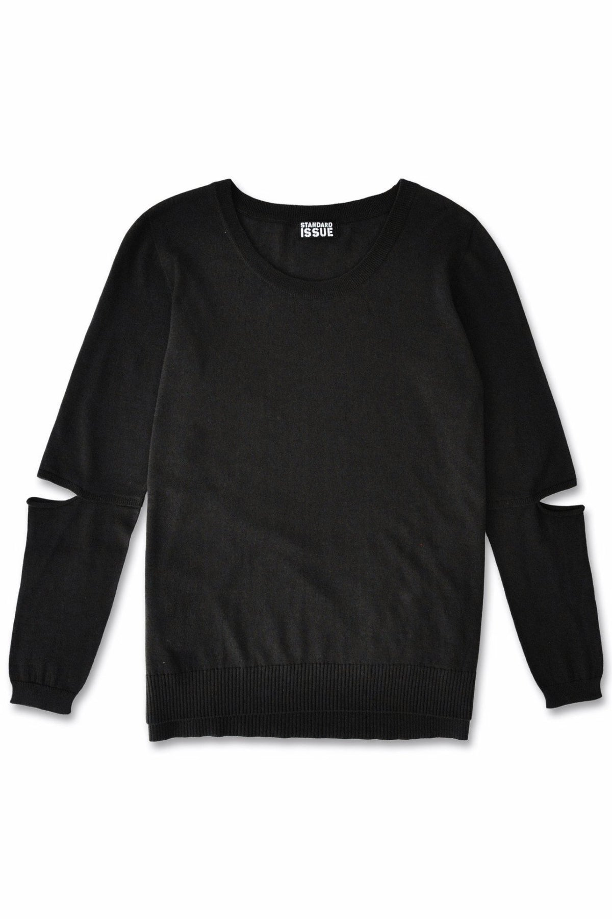 Standard Issue Split sleeve Sweater Knitwear Stockists Auckland Made in New Zealand NZ Designer Clothing