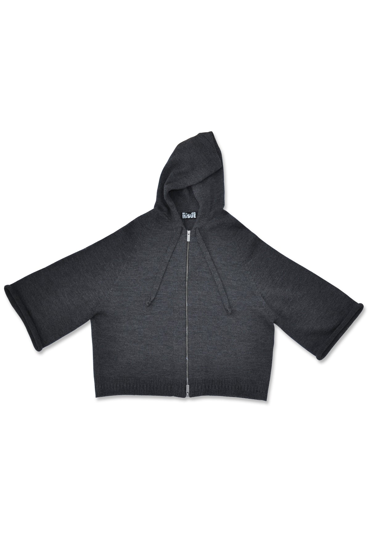 Standard Issue Zip Crop Jacket Knitwear Stockists Auckland Made in New Zealand NZ Designer Clothing