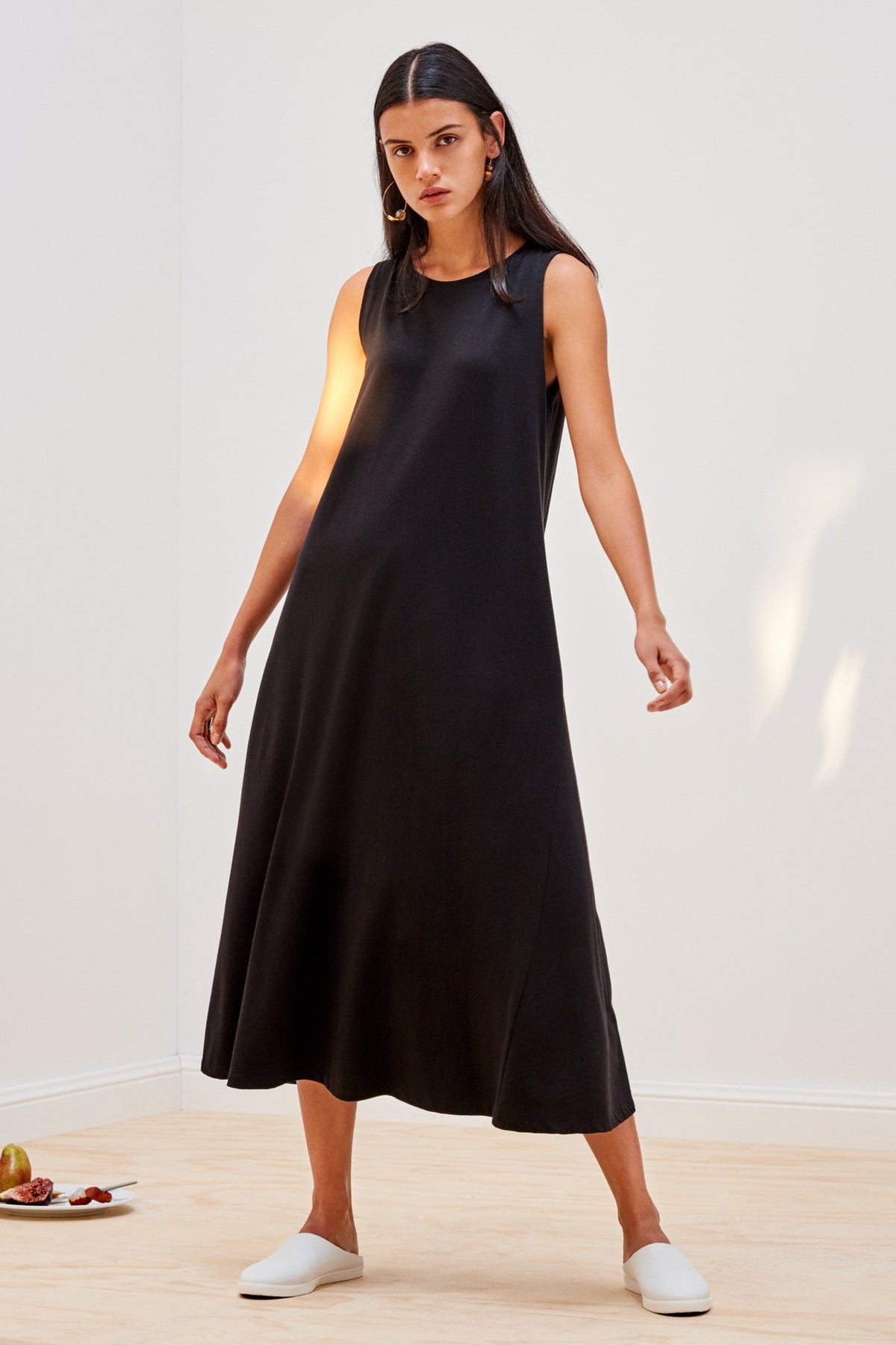 Kowtow stockists Building Block Tank Swing Dress Organic Fairtrade Ethical stockists online auckland parnell