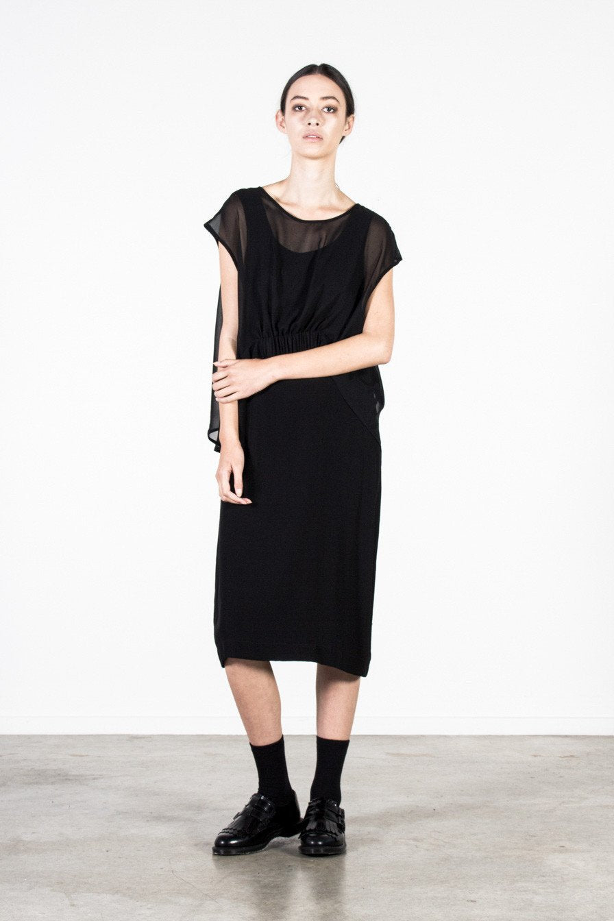Edie dress Nyne Stockists auckland New Zealand Made NZ Designer Clothing
