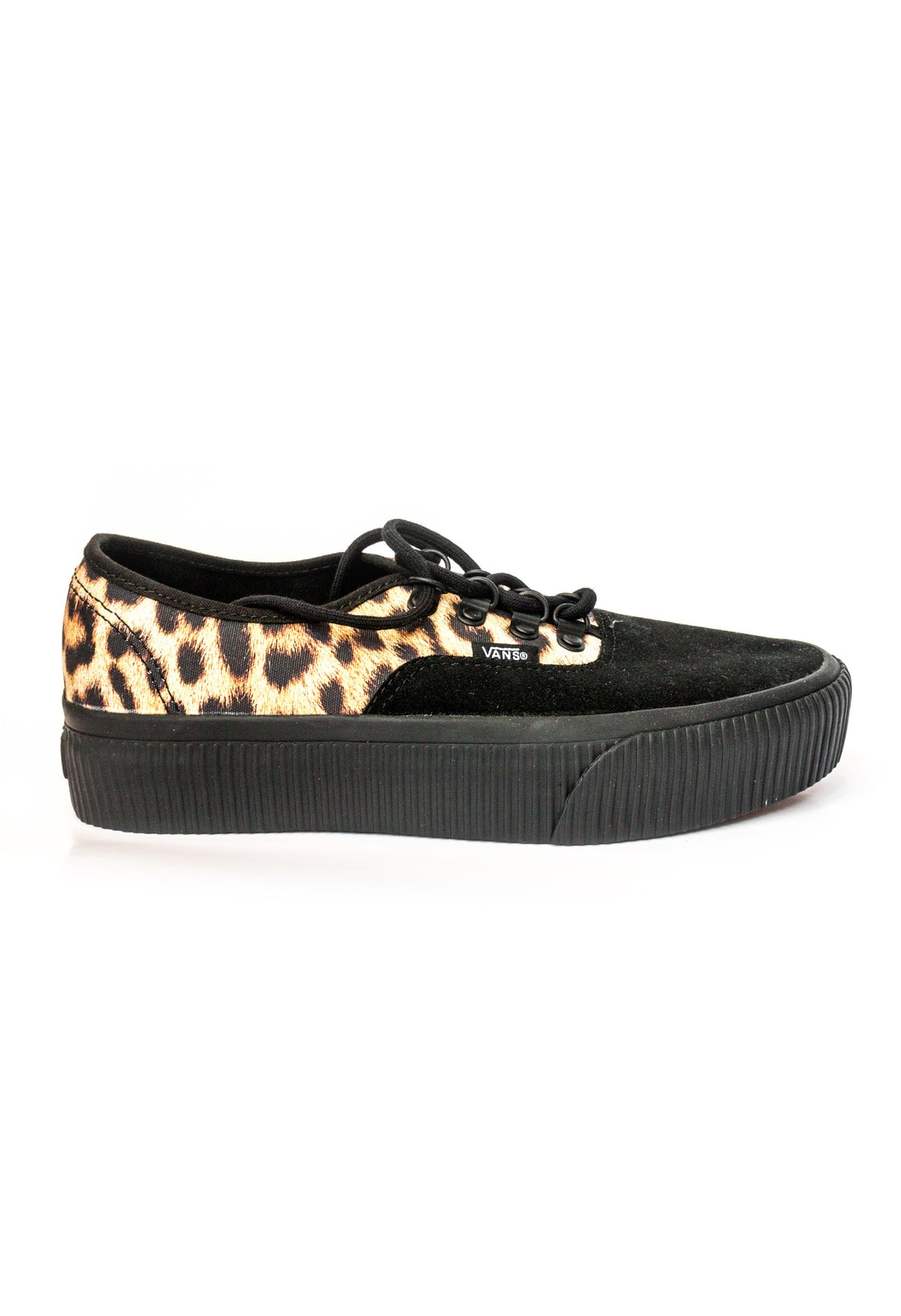 d366876c94d7 Authentic Platform Black and Leopard Print Canvass Vans Stockists New  Zealand Buy Online Vans Skate Shoes