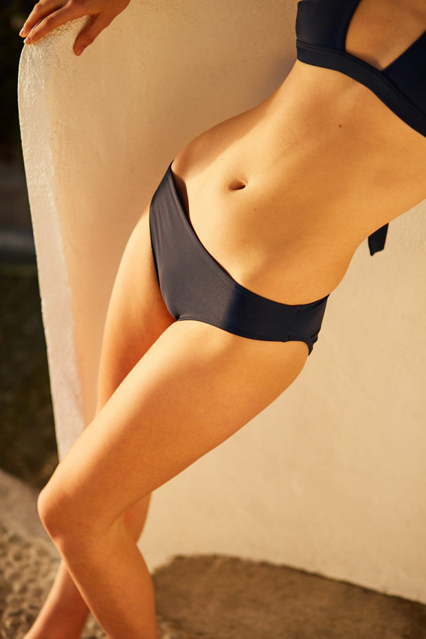Kowtow stockists Swimwear high waisted briefs Econyl Organic Fairtrade Ethical