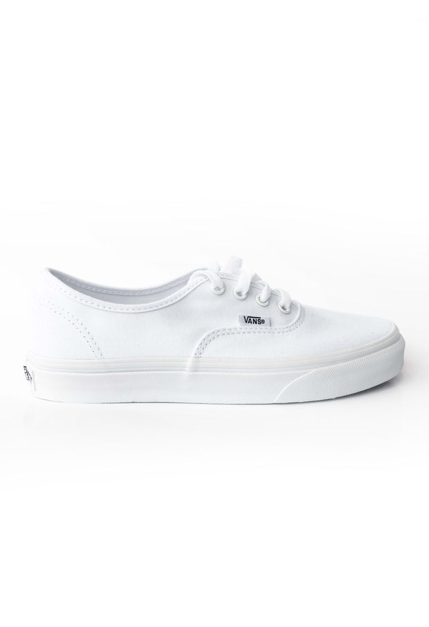 Authentic True White canvas shoe Vans Stockists New Zealand Buy Online Vans Skate Shoes Street Lace up Sneakers