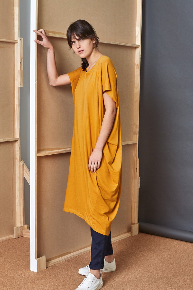Kowtow drape dress organic cotton new zealand designer clothing nz designer clothing