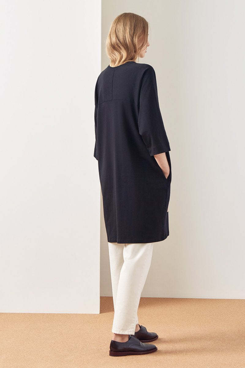Kowtow stockists Dream Dress Black Organic Fairtrade Ethical