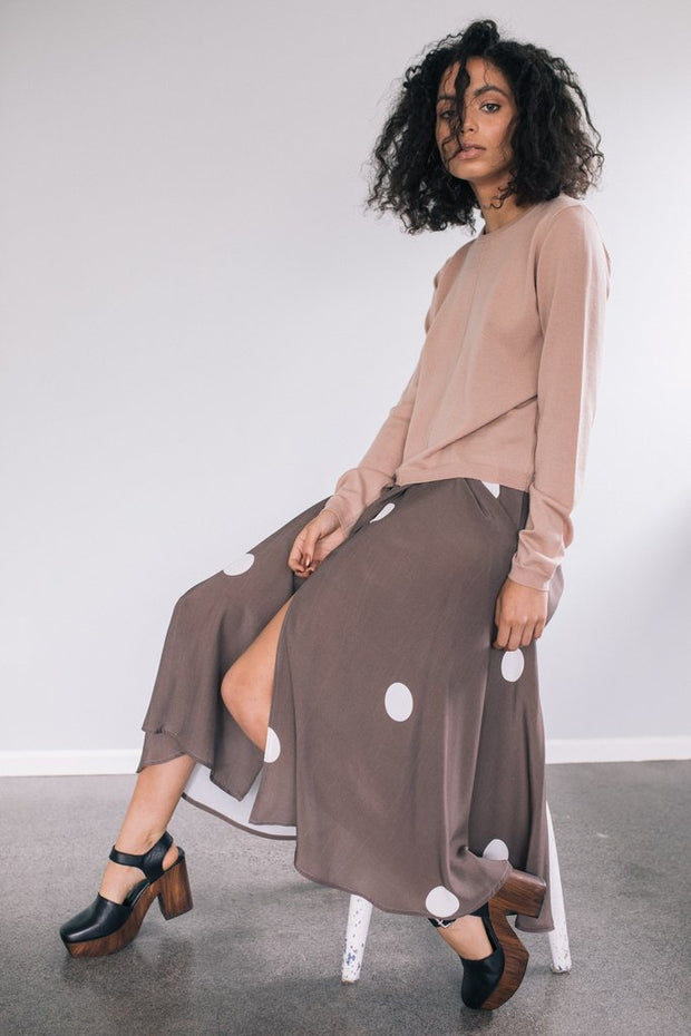 staple and cloth solstice skirt nz made new zealand designer clothing stockists parnell