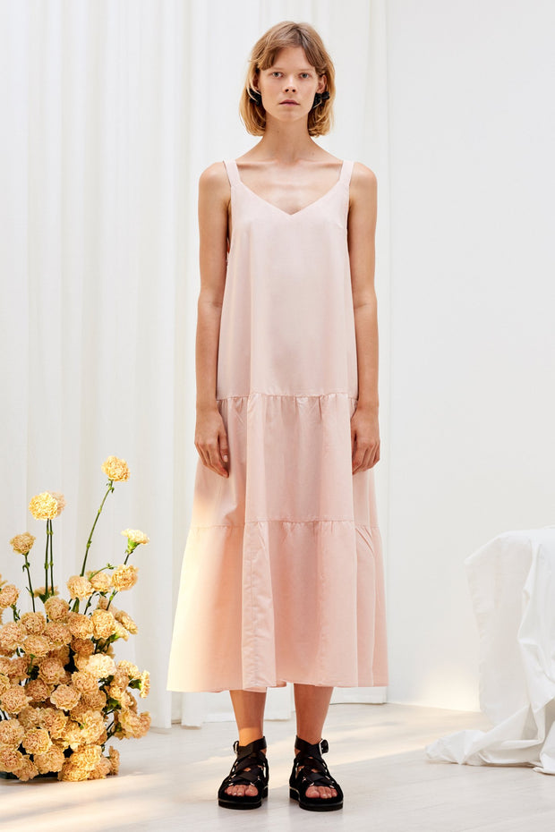 Kowtow stockists Element Dress Pink Organic Fairtrade Ethical