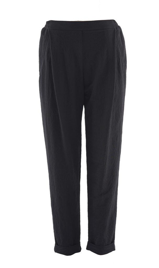 staple and cloth fusion pant black linen pants nz fashion New Zealand pant shop online or in parnell