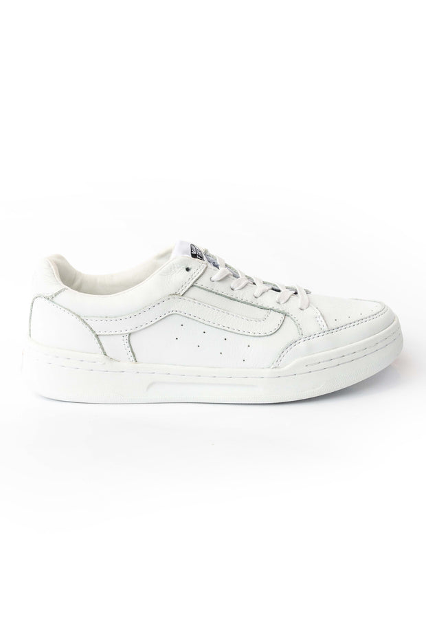 41466614f8 Highland White Leather Sneaker Vans Stockists New Zealand Buy Online Vans  Skate Shoes Street Lace up