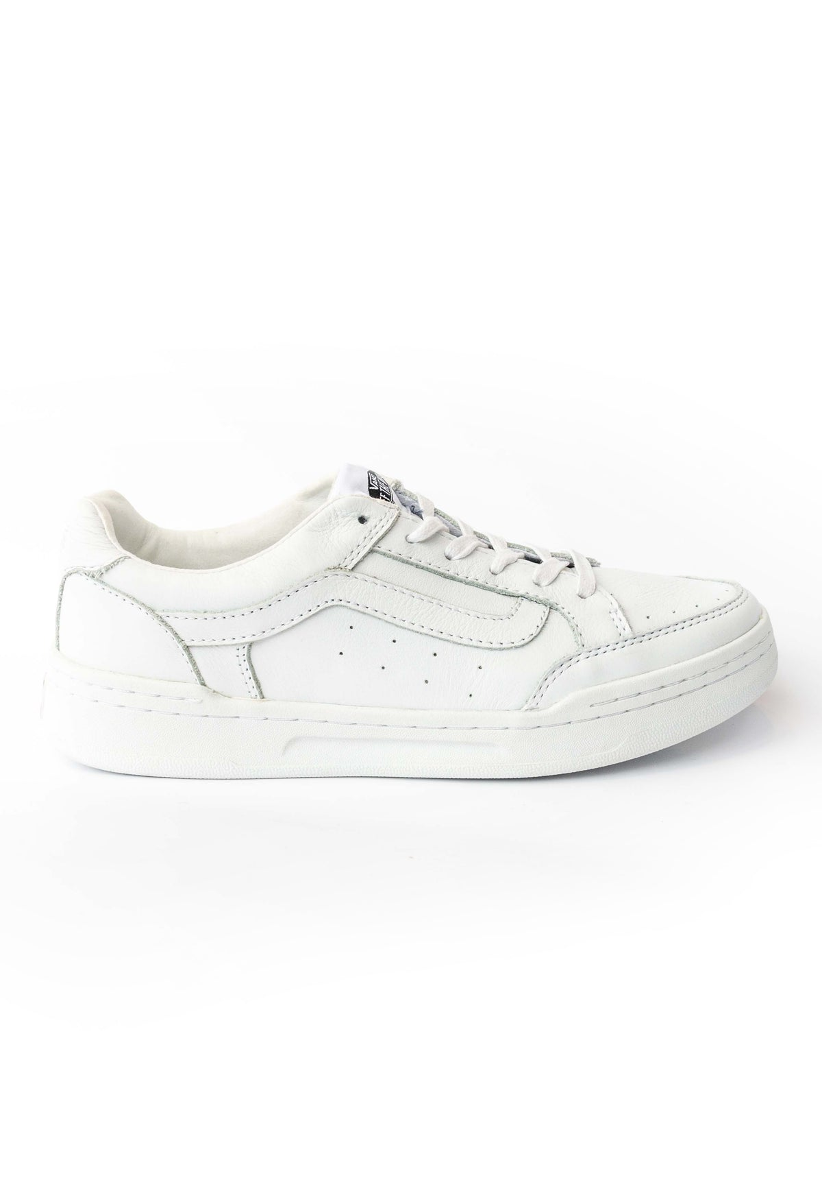 Highland White Leather Sneaker Vans Stockists New Zealand Buy Online Vans Skate Shoes Street Lace up Sneakers