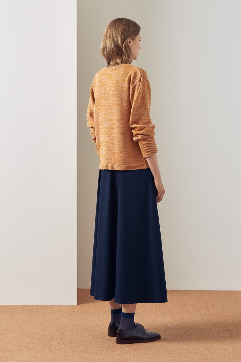 Kowtow stockists Horizon Cardigan Amber Organic Fairtrade Ethical