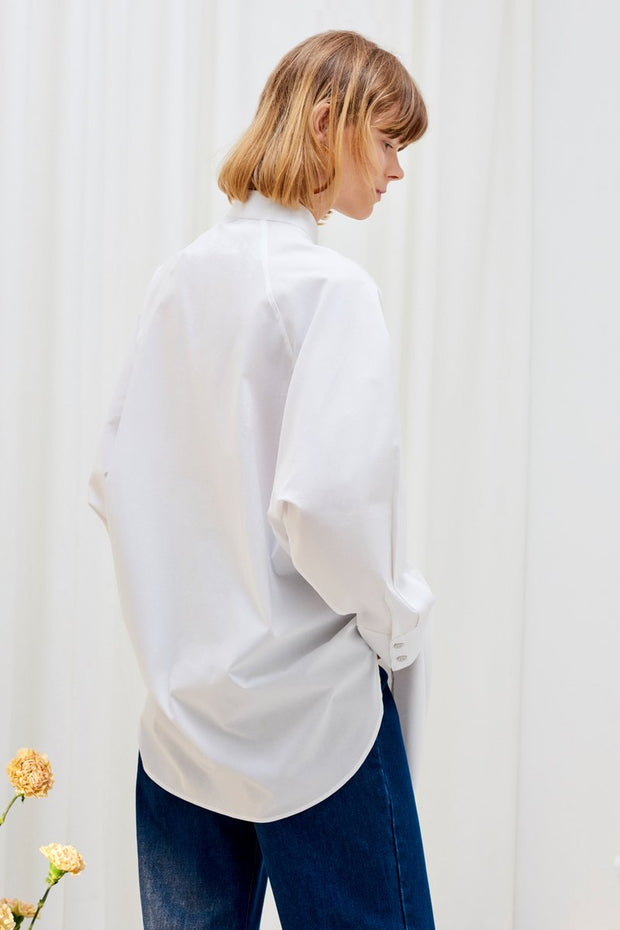 Kowtow stockists Just love shirt white Organic Fairtrade Ethical