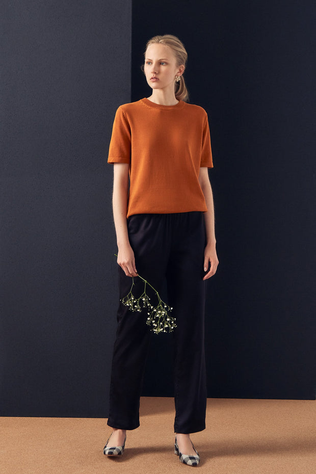 Kowtow knit tee Ethical fairtrade cotton kowtow stockists nz designer clothing   Parnell
