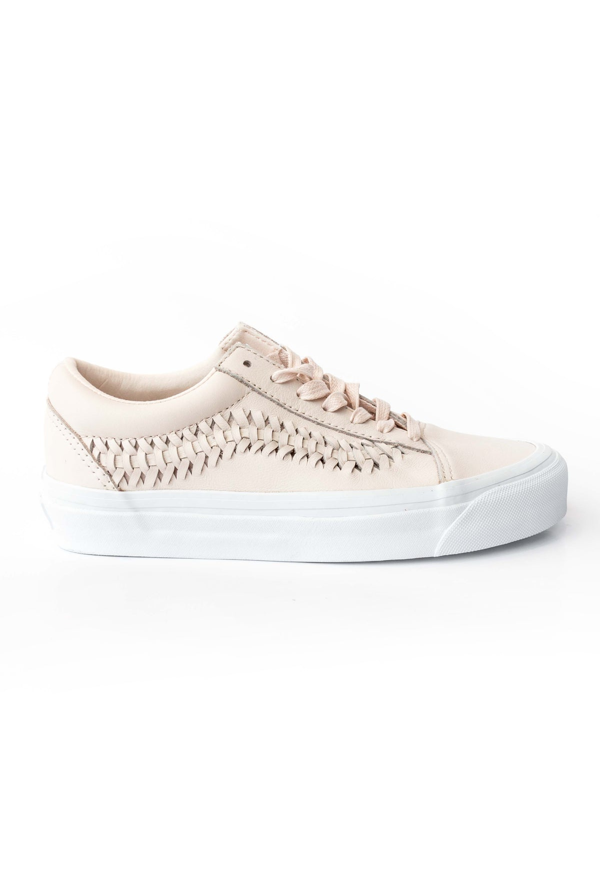f63dad6a59 Old Skool Weave Pink Leather Vans Stockists New Zealand Buy Online Vans  Skate Shoes Street Lace