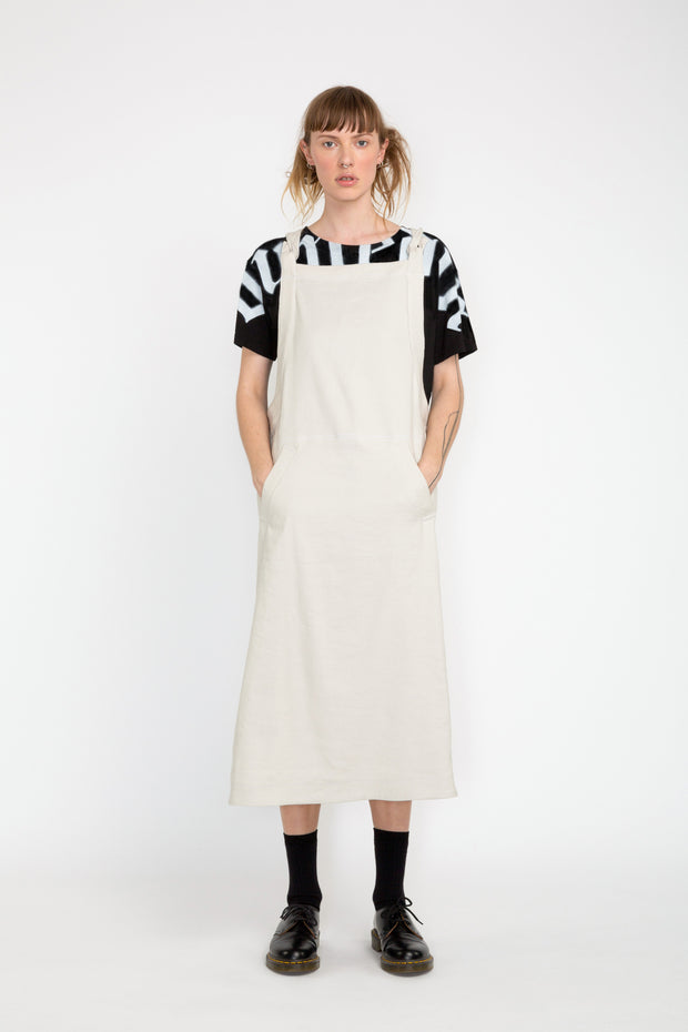 nom*d assembly pinafore dress shop online auckland stockists dunedin fashion made in new zealand nz designer clothing parnell
