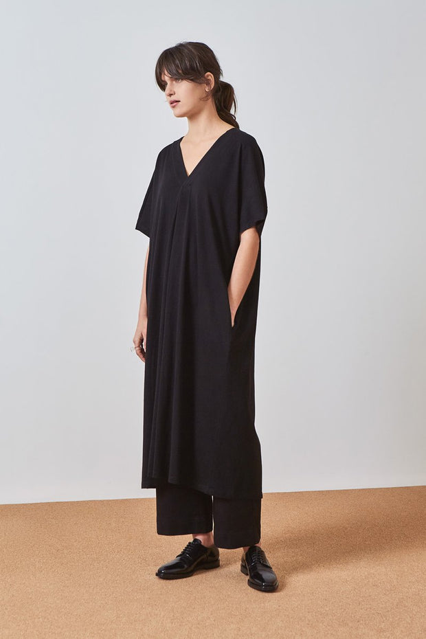 Kowtow pleat dress organic cotton new zealand designer clothing  nz designer clothing