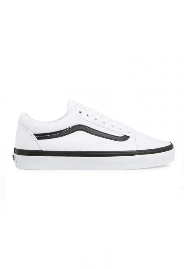 6a9df4b5a3 Old Skool pop foxing white with black Vans Stockists New Zealand Buy Online  Vans Skate Shoes