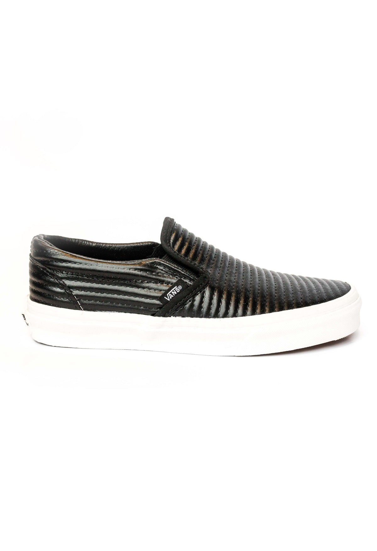womens vans classic slip on black nz